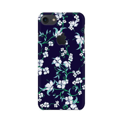 Dogwood Floral Pattern Apple iPhone 7 with Apple Cut Phone Cover