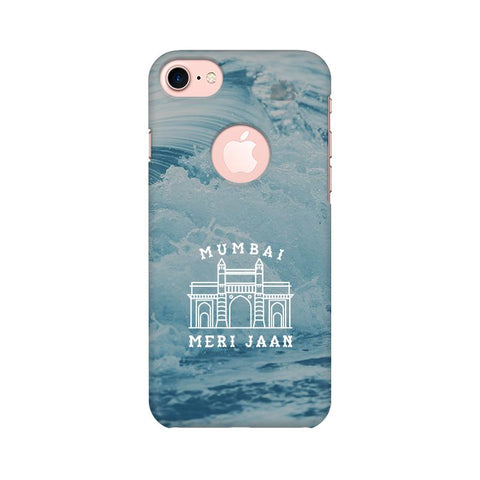 Mumbai Meri Jaan Apple iPhone 7 with Round Cut Cover