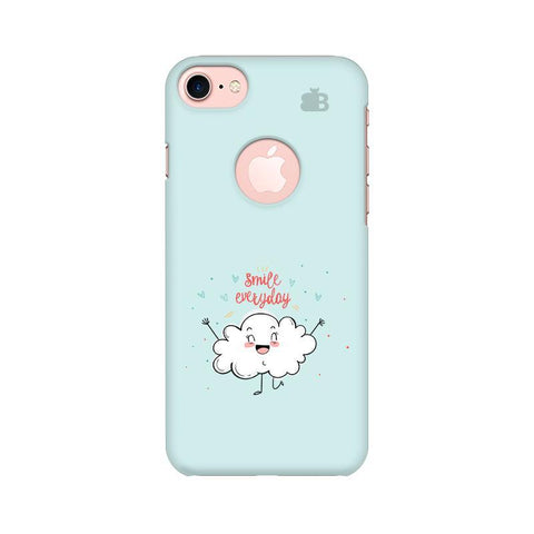 Smile Everyday Apple iPhone 7 with Round Cut Phone Cover