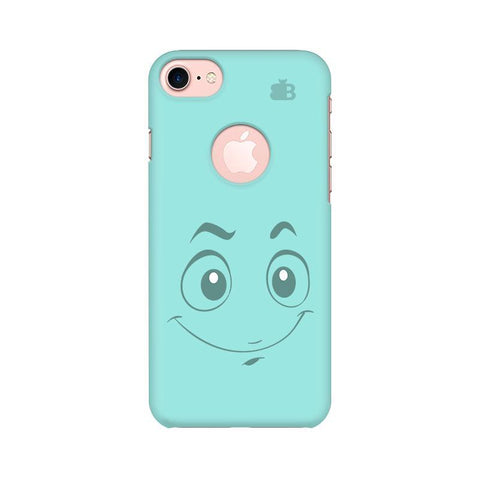 Smiley! Apple iPhone 7 with Round Cut Phone Cover