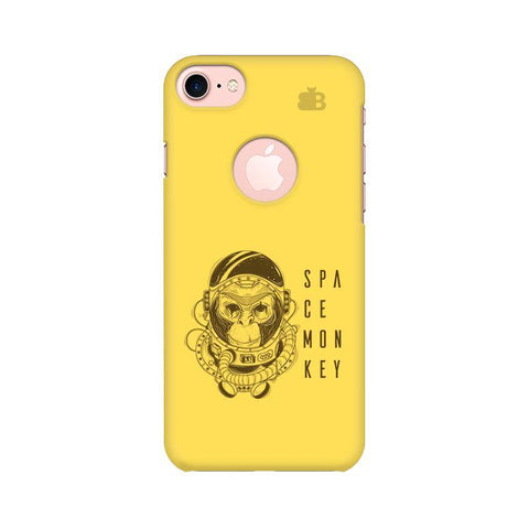 Space Monkey Apple iPhone 7 with Round Cut Phone Cover