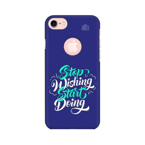 Start Doing Apple iPhone 7 with Round Cut Phone Cover