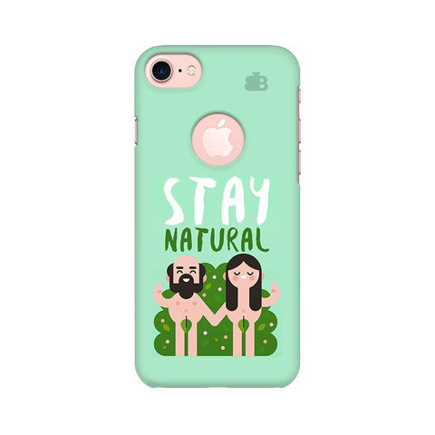 Stay Natural Apple iPhone 7 with Round Cut Phone Cover