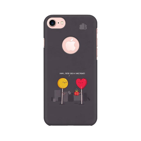 Sweetheart Apple iPhone 7 with Round Cut Phone Cover