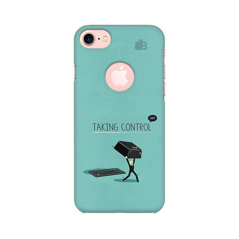 Taking Control Apple iPhone 7 with Round Cut Phone Cover