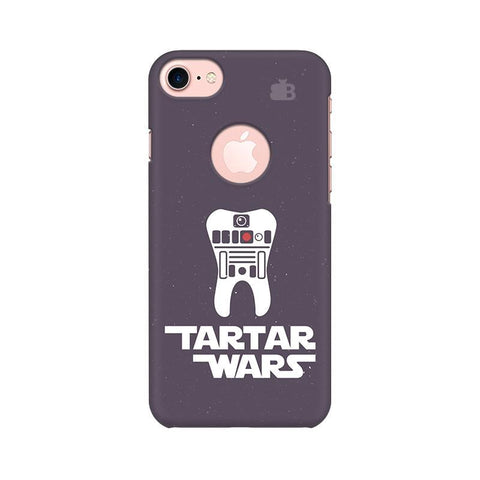 Tartar Wars Apple iPhone 7 with Round Cut Phone Cover