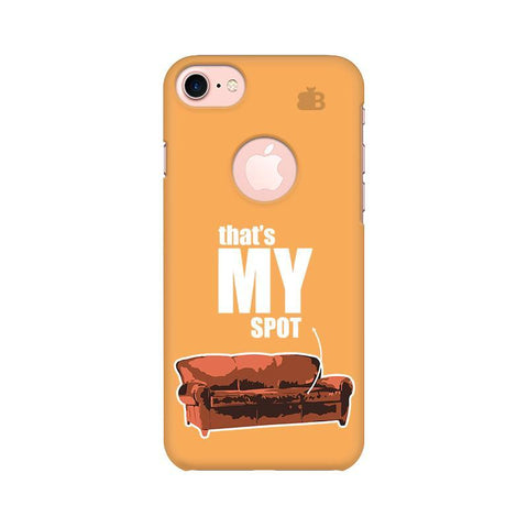 That's My Spot Apple iPhone 7 with Round Cut Phone Cover
