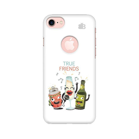 True Friends Apple iPhone 7 with Round Cut Phone Cover