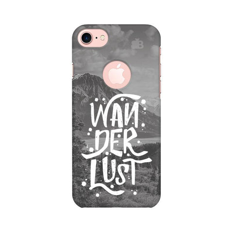 Wanderlust Apple iPhone 7 with Round Cut Phone Cover
