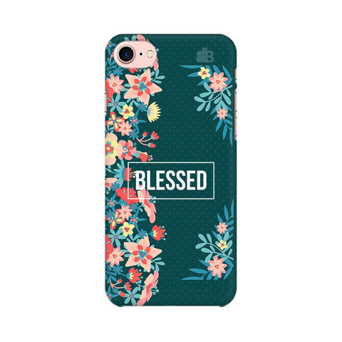 Blessed Floral Apple iPhone 8 Phone Cover
