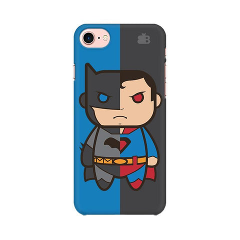 Cute Superheroes Annoyed Apple iPhone 8 Phone Cover