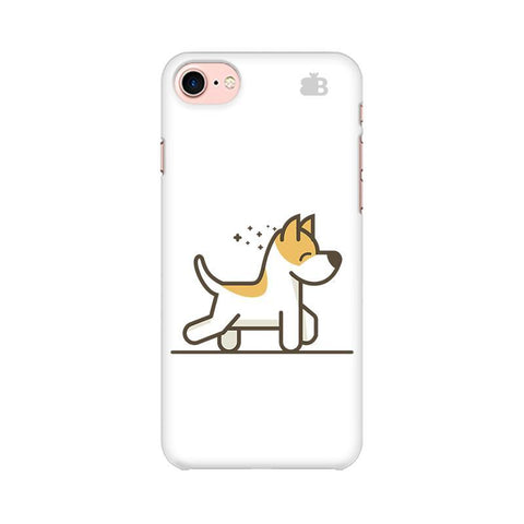 Happy Puppy Apple iPhone 8 Phone Cover