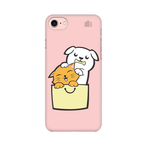 Kitty Puppy Buddies Apple iPhone 8 Phone Cover