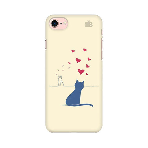 Kitty in Love Apple iPhone 8 Phone Cover