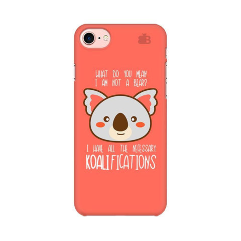 Koalifications Apple iPhone 8 Phone Cover