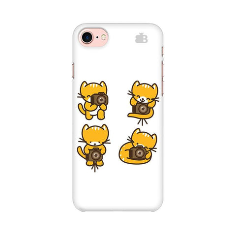 Photographer Kitty Apple iPhone 8 Phone Cover