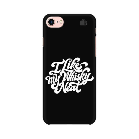 Whiskey Neat Apple iPhone 8 Phone Cover