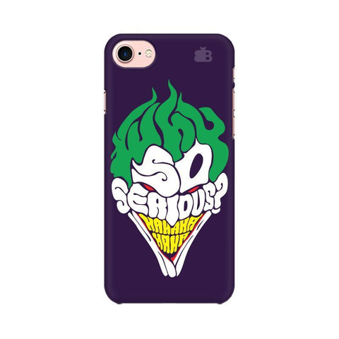 Why So Serious Apple iPhone 8 Phone Cover