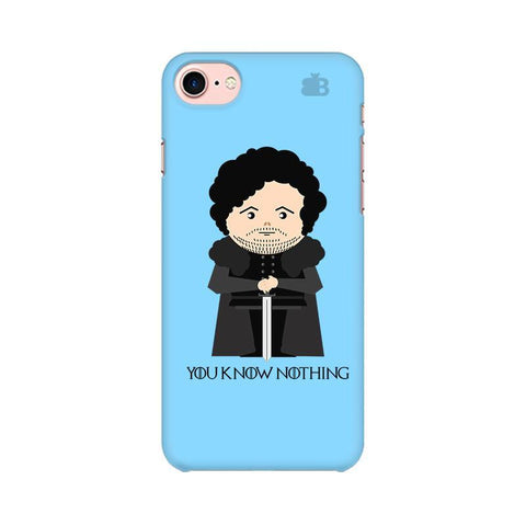 You Know Nothing Apple iPhone 8 Phone Cover