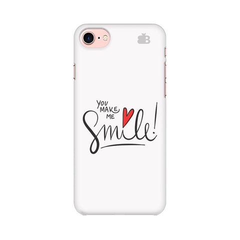 You make me Smile Apple iPhone 8 Phone Cover