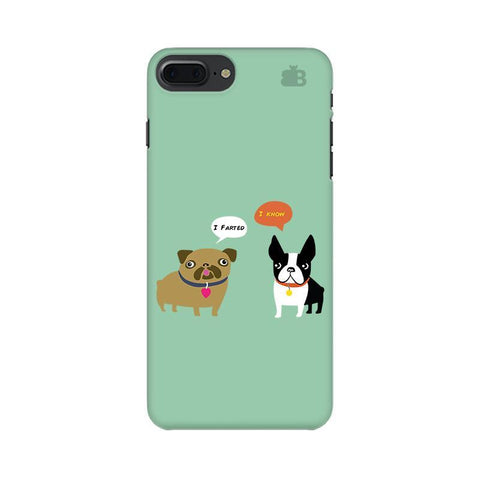Cute Dog Buddies Apple iPhone 8 Plus Phone Cover