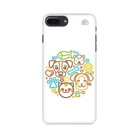 Cute Pets Apple iPhone 8 Plus Phone Cover