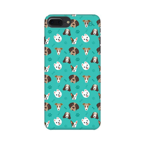 Doggie Pattern Apple iPhone 8 Plus Phone Cover