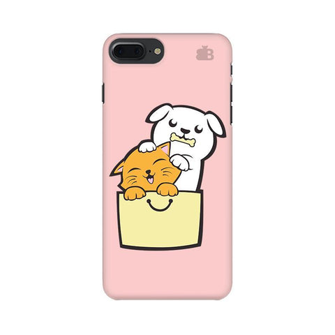 Kitty Puppy Buddies Apple iPhone 8 Plus Phone Cover