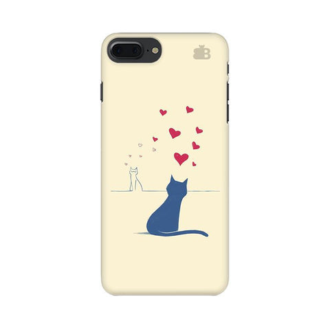 Kitty in Love Apple iPhone 8 Plus Phone Cover