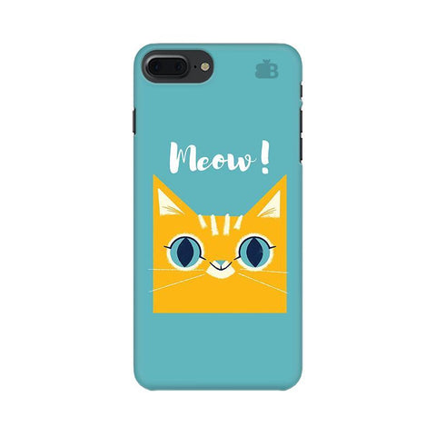 Meow Apple iPhone 8 Plus Phone Cover