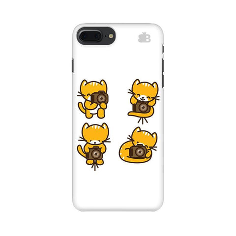 Photographer Kitty Apple iPhone 8 Plus Phone Cover