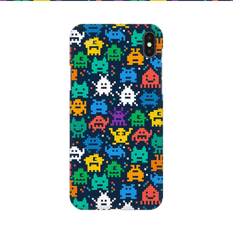 16 Bit Pattern Apple iPhone 9 Cover