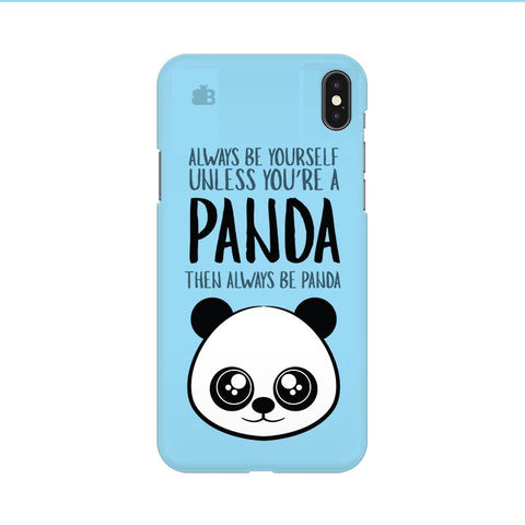 Always be panda Apple iPhone 9 Cover