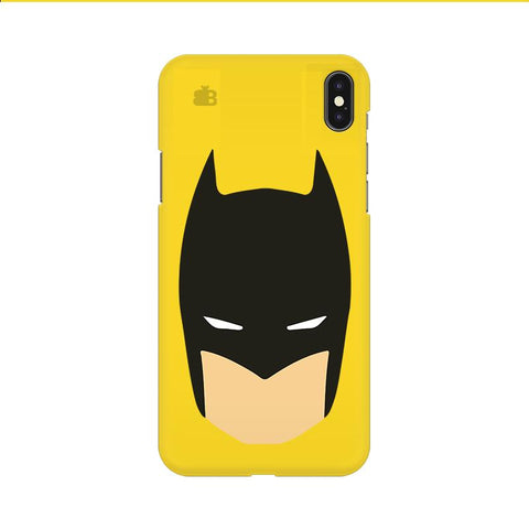 Angry Masked Superhero Apple iPhone 9 Cover