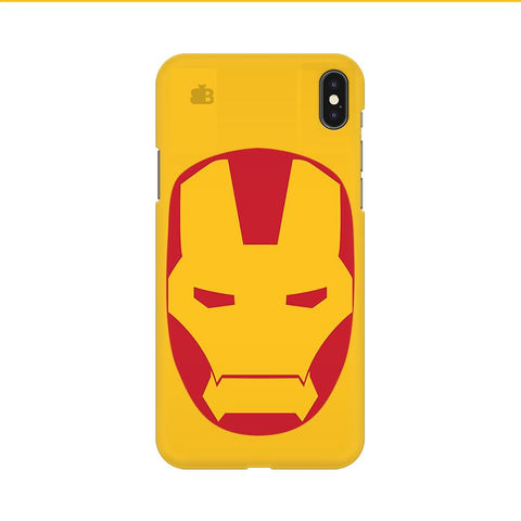 Angry Superhero Mask Apple iPhone 9 Cover