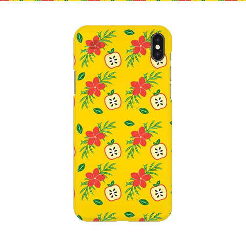 Apples & Flowers Apple iPhone 9 Cover