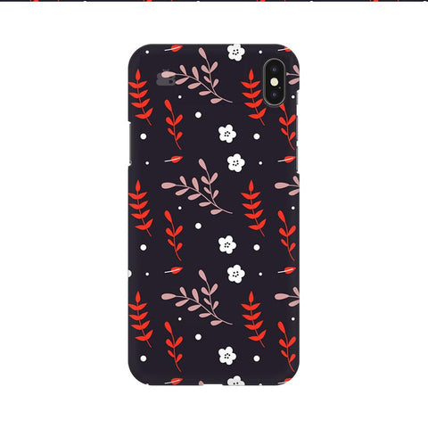 Autumn Floral Pattern Apple iPhone 9 Cover