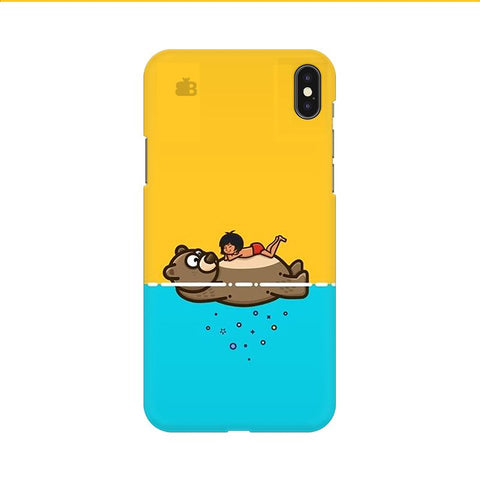 Baloo and Mowgli Apple iPhone 9 Cover