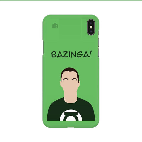 Bazinga Apple iPhone 9 Cover