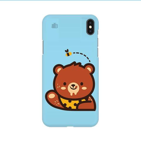 Bear Loves Honey Apple iPhone 9 Cover