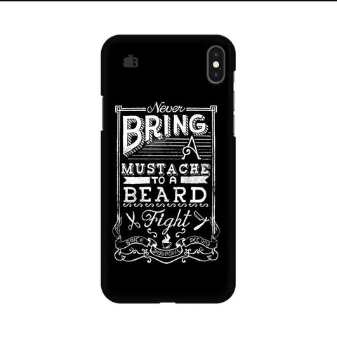 Beard Fight Apple iPhone 9 Cover