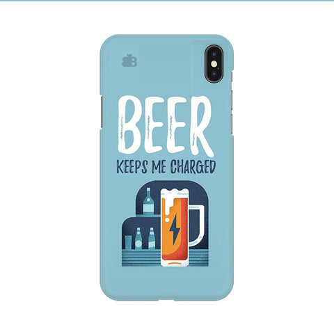 Beer Charged Apple iPhone 9 Cover