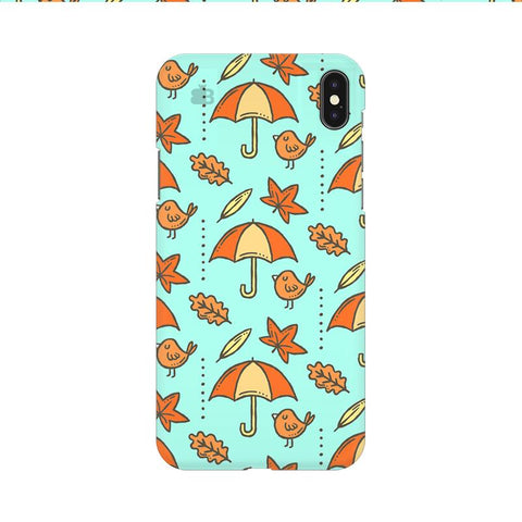 Birds & Umbrellas Apple iPhone 9 Cover