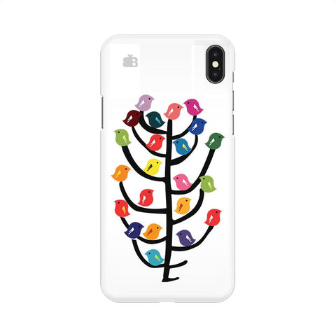 Birds on Trees Apple iPhone 9 Cover