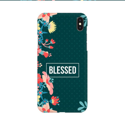 Blessed Floral Apple iPhone 9 Cover