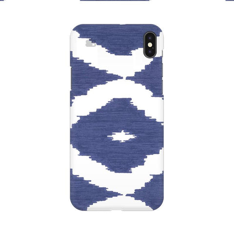 Blue Ikat Apple iPhone 9 Cover