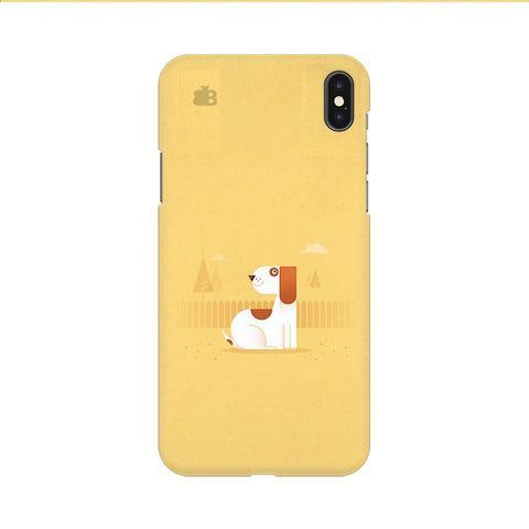 Calm Dog Apple iPhone 9 Cover