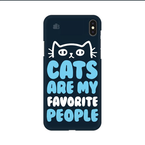 Cats favorite People Apple iPhone 9 Cover