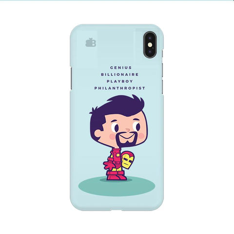 Clever Superhero Apple iPhone 9 Cover