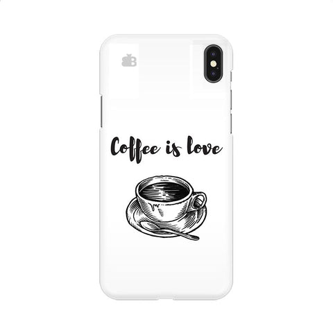 Coffee is Love Apple iPhone 9 Cover